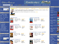 Internetov obchod DVDshop VideoMusic.cz