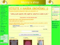 Internetový obchod Monny´s shop
