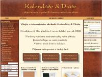 Internetový obchod Kalendáře a Diáře