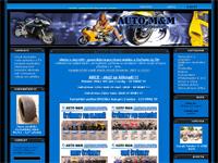 Internetový obchod AutoMM - čtyřkolky a minibike
