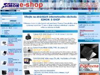 Internetový obchod Simon E-shop