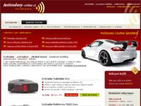 Internetový obchod Antiradary-online.cz