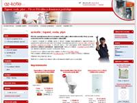 Internetový obchod Az-kotle.cz - topení, voda, plyn