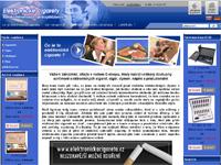 Internetový obchod Elektronické cigarety