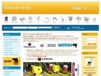 Internetový obchod Vibrační-desky.cz -vibrační technika