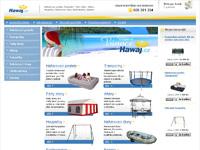 Internetový obchod Hawaj.cz - bazény, trampolíny, čluny