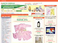 Internetov� obchod Canella & Elavi Fashion - povle�en�, post�lky