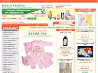Internetový obchod Canella & Elavi Fashion - povlečení, postýlky