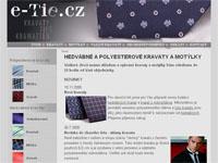 Internetový obchod E-Tie.cz - kravaty, motýlky