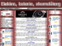 Internetový obchod Korpa.cz - elektro, hodinky, hodinářské zboží
