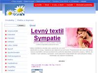 Internetový obchod Levný textil Sympatie
