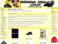 Internetov� obchod Valentino Rossi eshop