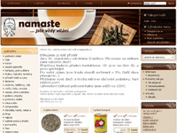 Internetový obchod E-namaste