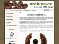 Internetový obchod Arabica.cz - obchod s kávou