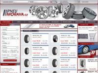 Internetový obchod Pneumorava.cz - pneuservis