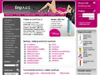 Internetový obchod LoveToys.cz - sexshop