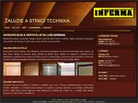 Internetový obchod Inferma - žaluzie