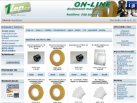 Internetový obchod 1lep.cz - oboustranné lepící pásky e-shop