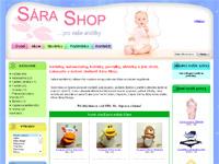 Internetový obchod Sára Shop - pro Vaše andílky