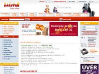Internetový obchod Čáryfuk - autosedačky, kočárky, hračky
