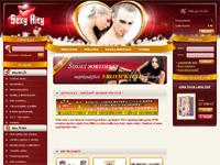 Internetov� obchod SexyHity.cz - zna�kov� sexshop