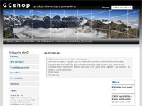 Internetový obchod GCshop.eu - vybavení pro geocaching