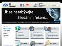 Internetový obchod SEO Laboratory - webové šablony