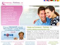 Internetový obchod Feromony - buďte sexy