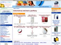 Internetový obchod Parfémy-online.cz