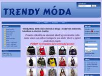 Internetový obchod Trendy móda - online obchod (e-shop)