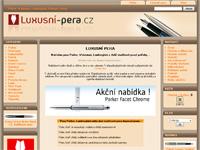 Internetový obchod Luxusní pera