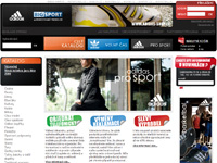 Internetový obchod Adidas shop - sportovní oblečení Adidas