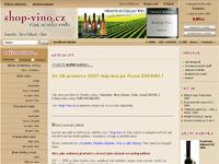Internetový obchod Shop Víno