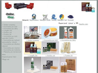 Internetový obchod Sedací soupravy - přípravky pro kůži a domácnost