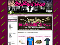 Internetov� obchod SoReal*Shop - Hip Hop a Skate wear
