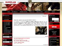 Internetový obchod Surplus shop