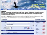 Internetový obchod Kralovna-Letenky.cz - LETENKY ONLINE