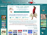 Internetový obchod E-shop Filter Bags