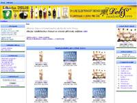 Internetový obchod Alkohol, destiláty, likéry a dárky
