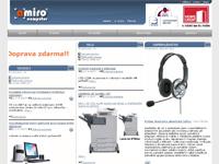 Internetový obchod Amiro Computer
