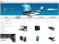 Internetový obchod Acer shop